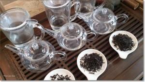 Test 3: 95 graden, 2, 3 en 4 gram thee