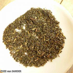 Groene thee zakje