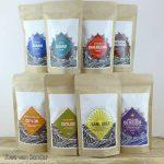 Set van 8 soorten zwarte thee
