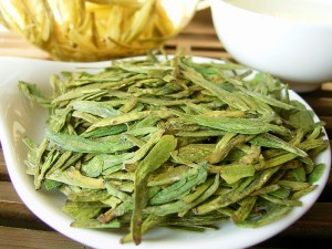 Gezonde groene thee, Long Jing