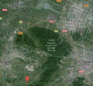 Plattegrond Yixing en Ding Shu