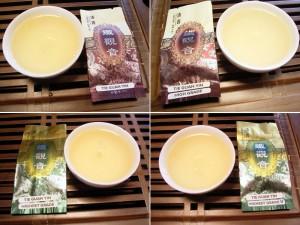 Tie Guan Yin kleur thee