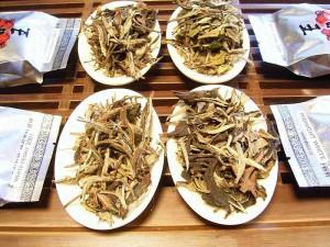 Witte thee, de 4 soorten
